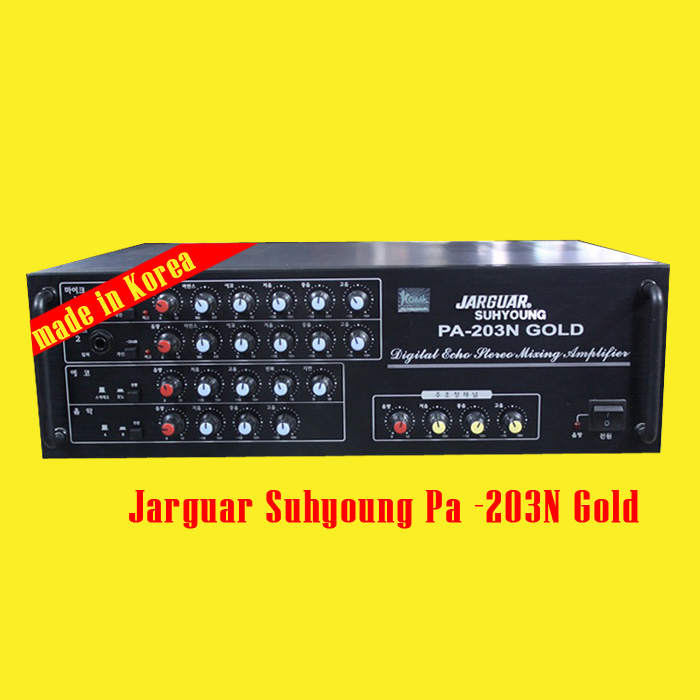 Amplifier Jarguar Suhyoung 203N Gold